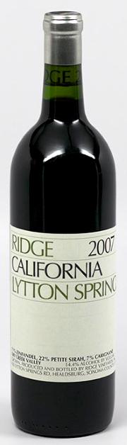 Ridge Lytton Springs