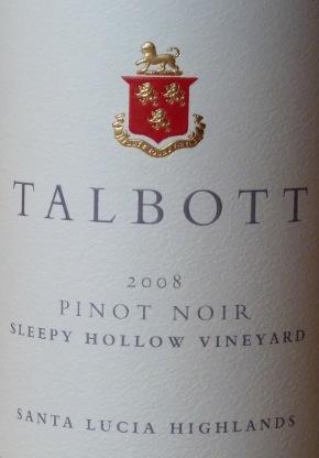 Talbott Pinot Noir
