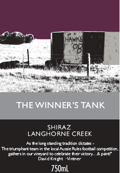 Winner's Tank Shiraz