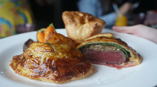 Quick Beef Wellington