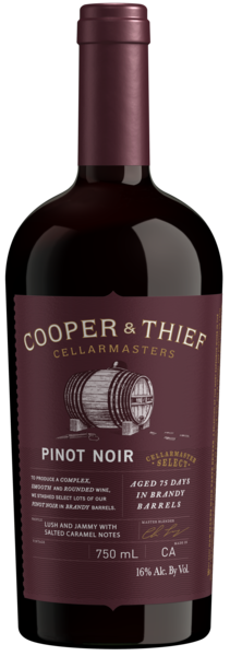Cooper & Thief Brandy Barrel Pinot Noir